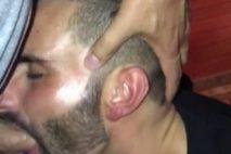 Zobeur appliqué reçoit une éjaculation faciale par un musulman